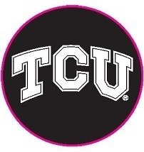 Texas Christian TCU Horned Frogs Carriage II Desk Clock by Alumni Gift