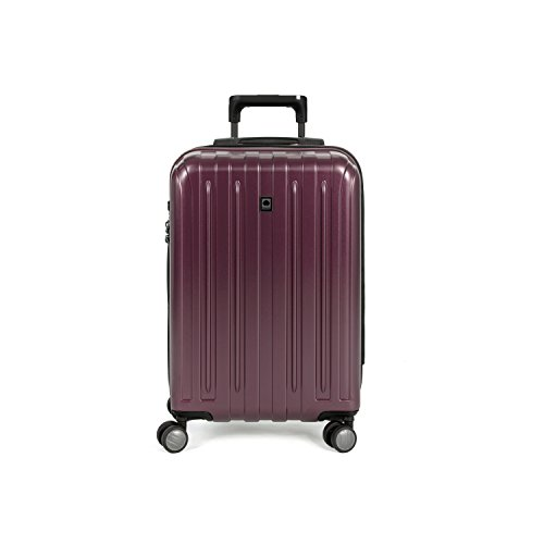 Delsey Helium Titanium Carry-on Exp. Spinner Trolley , Purple