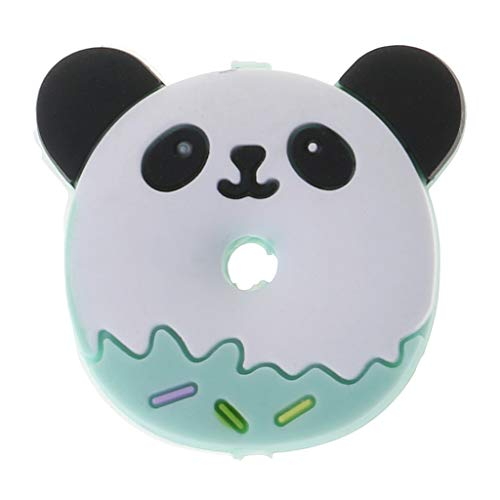 Price comparison product image Forgun Silicone Beads Panda Cartoon DIY Necklace Pendant Bracelet Baby Teether Teething Care Oral Supplies Bite Chew Toys Food Grade BPA Free Pain Relief Massage Newborn Products