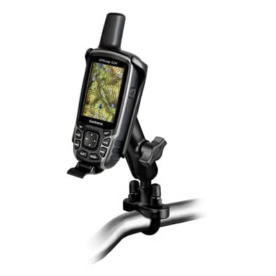 RAM Handlebar U-Bolt Mount for Garmin Astro 320, GPSMAP 62 & 64 Series