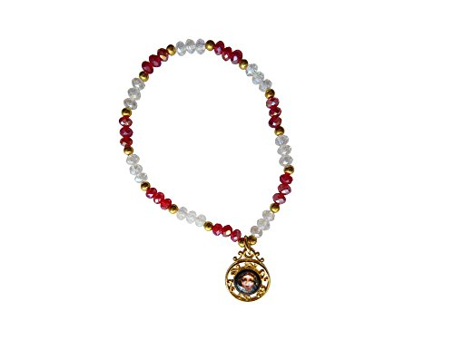 Precious Blood of Jesus Christ Bracelet with Medal Pulsera De La Preciosa Sangre De Cristo