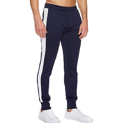 Jogging Pantalons Lâche Marine Sport Cordon Pantalon De Fitness Conqueror Occasionnels Hommes Survêtement XgxCnOgt7