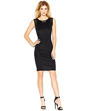 Guess Womens Matte Jersey Knee-Length Cocktail Dress
