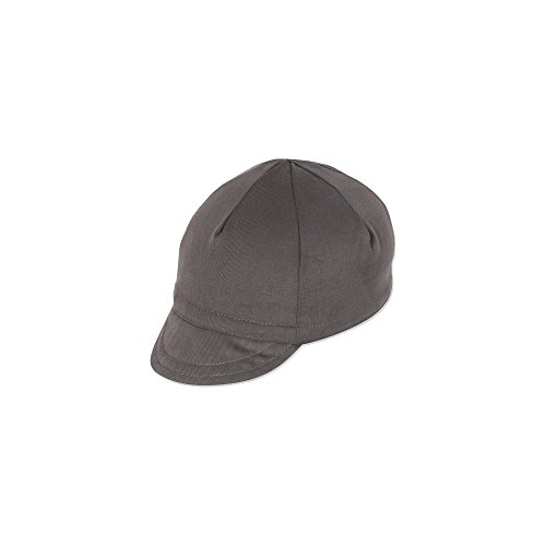 Pace Sportswear Traditional Cycling Cap: Graphite XL