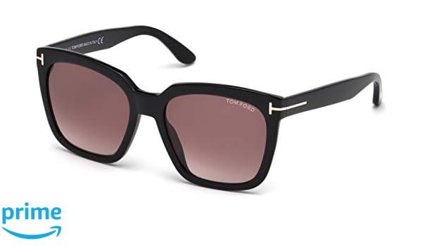 78d217629d Sunglasses Tom Ford FT 0502 -F 01T shiny black gradient bordeaux at Amazon  Men s Clothing store