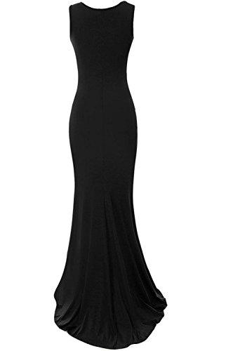Babyonlinedress - Vestido - recto - para mujer negro