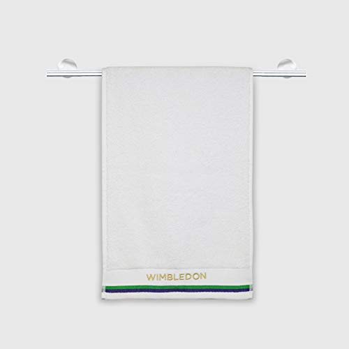 Spaces Wimbledon White Cotton Sport Towel