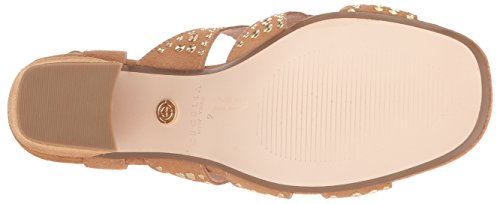 Cecelia New York Dames Cosmo Slide Sandaalzand