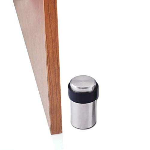 OKIRO Door Stopper Floor Mount Door Stop Stainless Steel Door Bumper ()