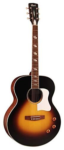 Cort 6 String Acoustic-Electric Guitar, Right Handed (CJ RETRO VSM)