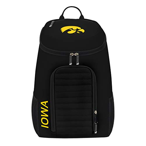 - The Northwest Company Officially Licensed NCAA Iowa Hawkeyes Topliner Backpack, Black, 19