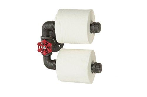 Double Toilet Paper Holder