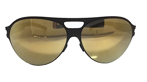 Mykita Sunglasses Frame New Patented Aviator Germany Mod.BRONCO Black Gold 60 - Mykita Frames