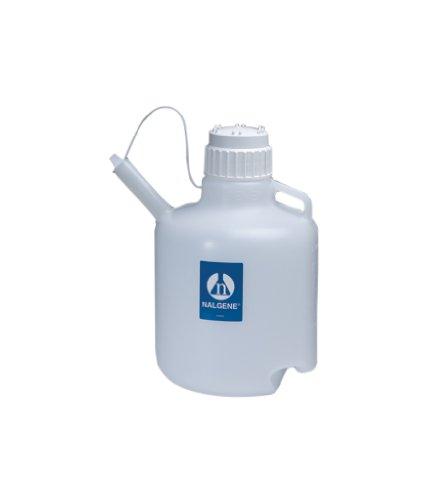 Nalgene Polyethylene Jug with Spout, 10 L (Case of 4) by Nalgene