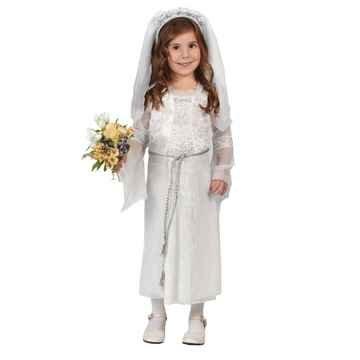 [Elegant Bride Child Costume - Toddler 3T-4T] (Elegant Bride Costumes)