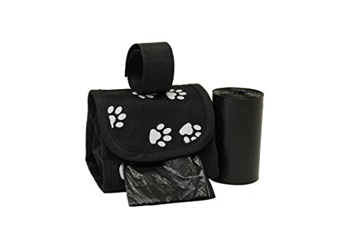 Five Star Pet Purse Dispenser with 2 Rolls Refill Bags (White Paw)
