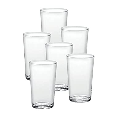 Duralex Made In France Unie Glass Tumbler (Set of 6) 8.75 oz Clear