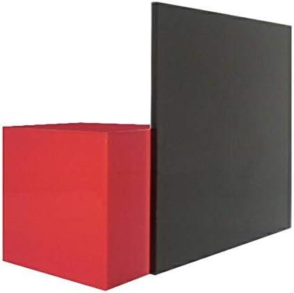 日本製 アクリル板 黒(押出板) 厚み10mm 1000X1000mm 縮小カット1枚無料 糸面取り仕上(手を切る事はありません)(キャンセル返品不可)