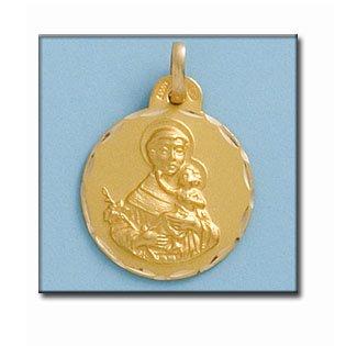 Médaille D'or 18kt San Antonio 21mm
