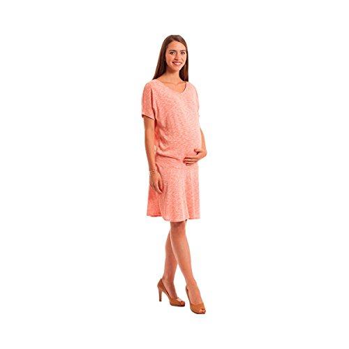 POMKIN La robe de grossesse et d'allaitement robe de grossesse robe de grossesse, taille M, orange
