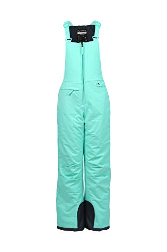 (Arctix Youth Insulated Overall Snow Bib, Island Azure, Small)