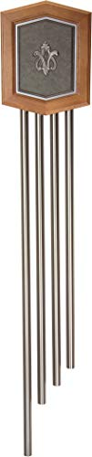 """Craftmade C4-PW Westminster Decorative 4 Tube Long Door Chime, Pewter (56.75""""H x 10.75""""W)"""