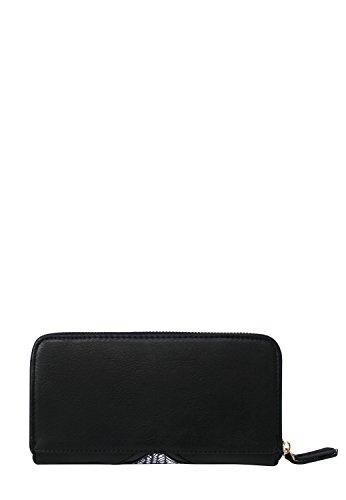 LYDC London Damen PU-Leder Geldbörse Clutch Geldbeutel Portemonnaie