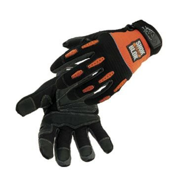 Black Stallion Tool Handz Shock-Block Gloves, Size X-Large (10''-11'')