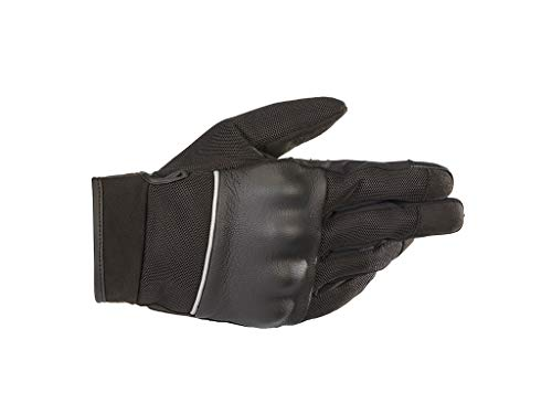 Alpinestars C Vented Motorcyle Riding Air Glove (Large, Black)