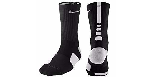 Nike Men's Elite Cushioned Crew Socks Large (shoe size 8-...
