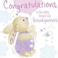 rosanna rossi congratulations grandparents card amazon co uk