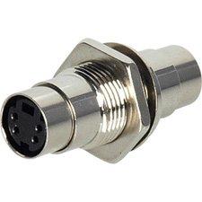 (Calrad S-Video cm Bulkhead Connector)