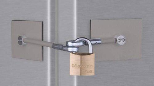 Refrigerator Door Lock Kit Marinelock