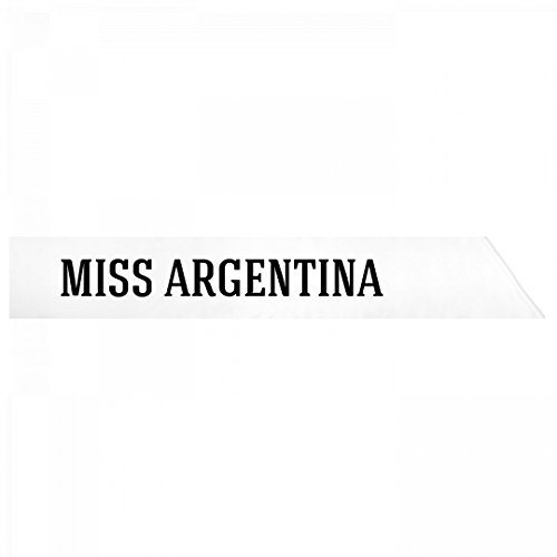 Halloween Costume Winner Pageant (Miss Argentina Costume: Adult Satin Party)