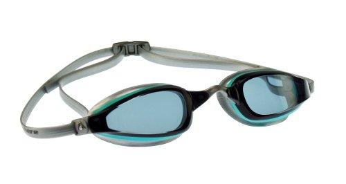 Aqua Sphere Women's K-180 Smoke Lens Goggles (Aqua/Crystal)