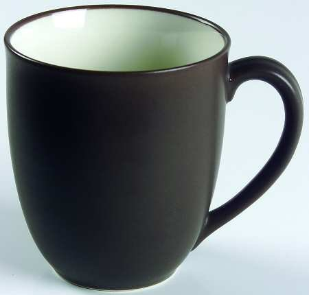 Noritake Colorwave-Chocolate Mug, Fine China Dinnerware