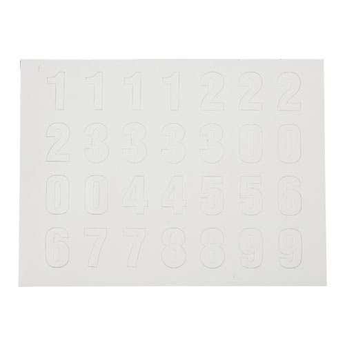 Brady 57624, Magnetic Numbers (Pack of 4 pcs)