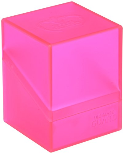 Ultimate Guard Deck Box Boulder Standard 100+ Rhodonite Pink Collectible Card Protection by Ultimate Guard