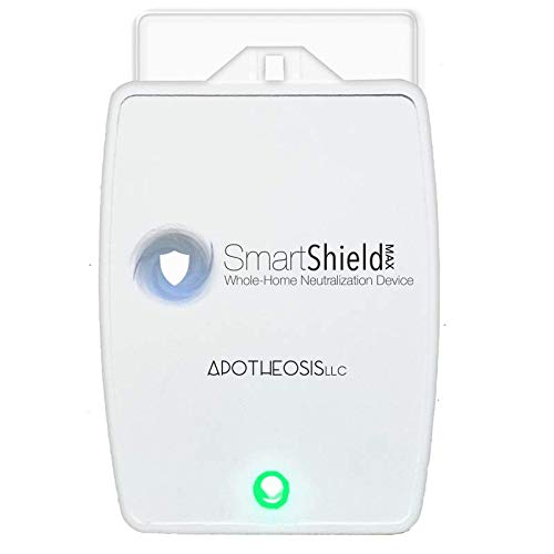 SmartShield EMF MAX Whole House EMF Protection - Our Most Powerful Anti-Radiation 5G Shield, Plug-in EMF Neutralizer for Mobile and Electronic Devices