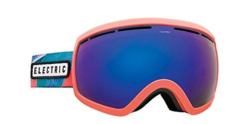 Electric Eyewear Women's EG2.5 Pink Palms/Brose Blue Chrome Lens One - Electric Eg2.5 Lens