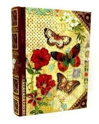 Punch Studio Keepsake Nesting Book Papillon Large 51732