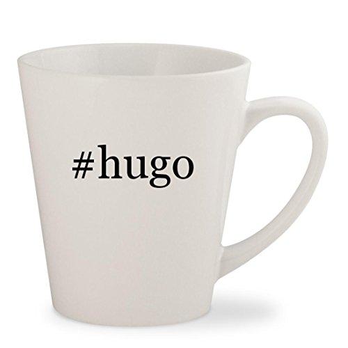 #hugo - White Hashtag 12oz Ceramic Latte Mug Cup