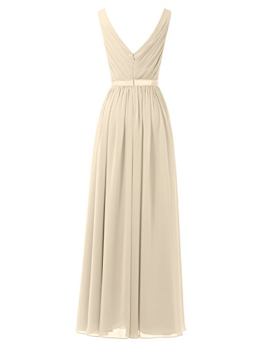 Alicepub-V-Neck-Chiffon-Bridesmaid-Dress-Long-Party-Prom-Evening-Dress-Sleeveless