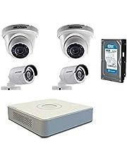 مجموعة كاميرات مراقبة تربو عالية الدقة HD من هيكفيجن