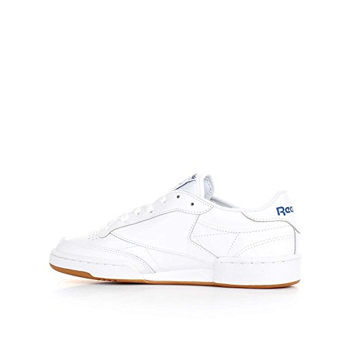 Int Club Gum Reebok Damen Sneaker Weiß White C Royal 85 p57Yw7rzq