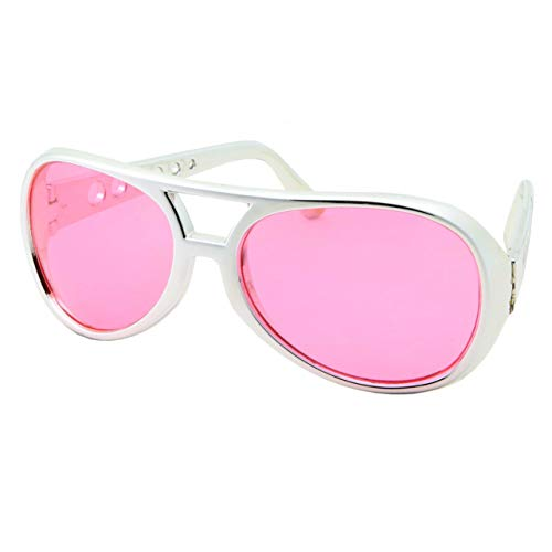 50's 60's Rock Star Sunglasses - Elvis Style