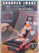 Launch pad Tabletop Basketball with electronic display with digital scorekeeper and countdown timer -
