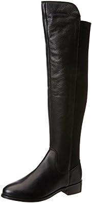 CarvelaPACIFIC - Stivaletti sopra al ginocchio donna , Nero (Nero), 35.5