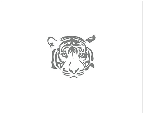 Tiger decal beautiful car decal vinyl decal tiger car sticker girly yeti tumbler tiger tumbler decal big cat decal safari tribal