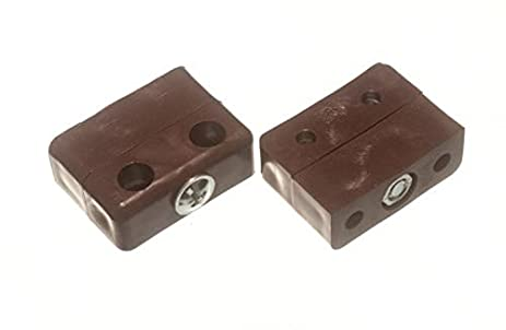 Bulk Hardware BH01818 Knockdown Furniture Block Fitting   Brown By Bulk  Hardware